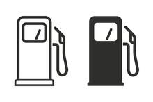 Fuel Vector Icon.