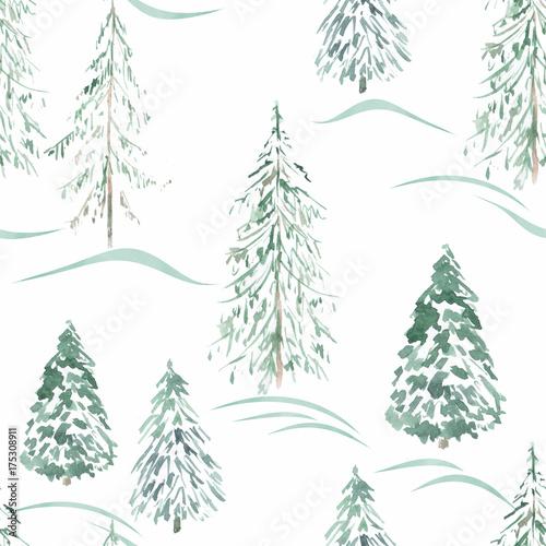 akwarela-zima-bezszwowy-wzor-zimowy-la