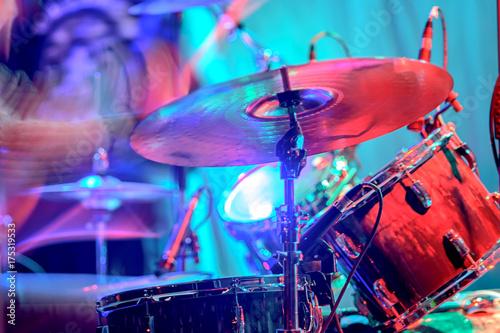 Plakat Zestaw perkusyjny koncert