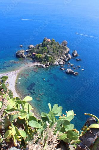 Zdjęcie XXL Isola Bella - Taormina (Taormina) / Sycylia - Włochy