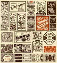 Mega Set Of Old Advertisements