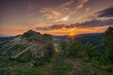 Blick Vom Maßkopf Thüringer Wald