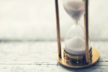 Time Is Ticking - Hourglass On...