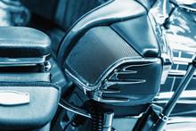 Detail Of A Luxury Motorbike S...