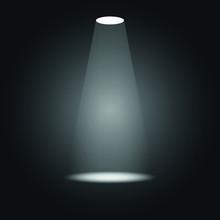 Beam Of Light Focusing On An O...