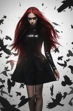 Beautiful Goth Mistress Evil G...