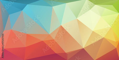Super horizontal triangle cover banner