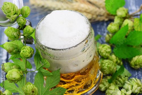 Aluminium Prints Beer / Cider Bier,Hopfen