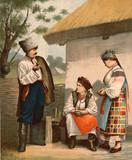 The Ukrainians man and woman. - 175363183