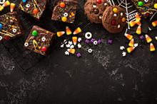 Chocolate Monster Brownies Homemade Treats For Halloween