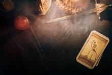 Tarot Card /  View Of Tarot Ca...