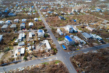 Drone Image Of Homes Destroyed In The Florida Keys Hurricane Irma