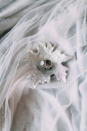 Fototapety, obrazy: wedding decor, European flowers printing and cake