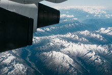 The Swiss Alps From An Airplan...