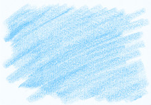Natural Blue Abstract Pencil T...