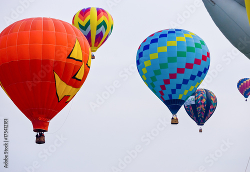 Plakat Hot Air Ballon Race
