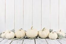 Autumn Border Arrangement Of W...