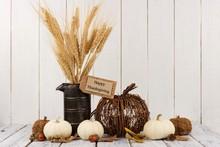 Happy Thanksgiving Tag, Pumpki...