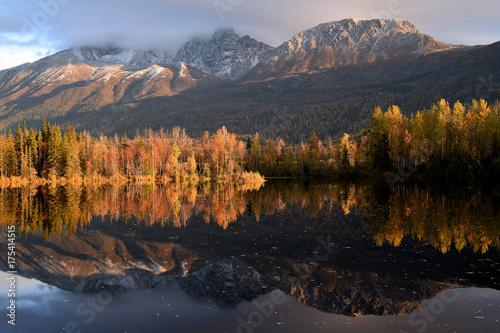 Spoed Foto op Canvas Grijze traf. Alaska Autumn