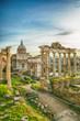 Forum roman rome historic architecture
