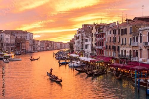Türaufkleber Gondeln Venice italy travel traditional landmark