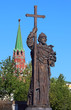 Monument to the Holy Equal-to-the-Apostles Prince Vladimir in Moscow