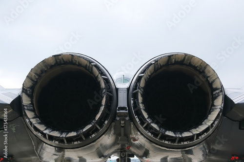 Photo Engines of  F-15E Strike Eagle