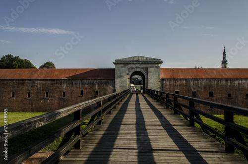 Tuinposter Vestingwerk Fort, twierdza