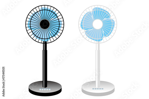 扇風機のイラストベクターデータfan Illustration Buy This Stock
