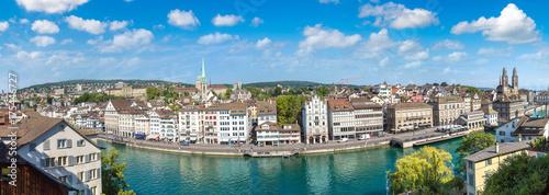 In de dag Havana Panoramic view of Zurich