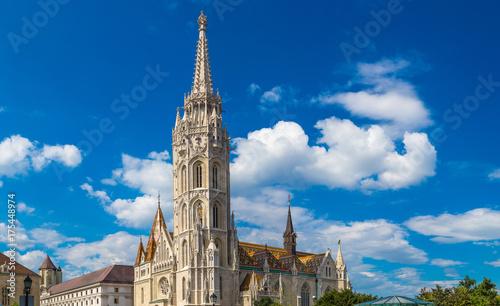 Plakat Kościół św. Macieja w Budapeszcie