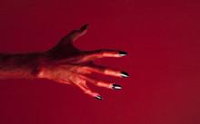 Halloween Red Devil Monster Ha...