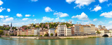 Cityscape Of Lyon, France