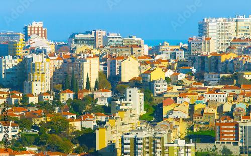 Stickers pour portes Delhi Lisbon real estate, Portugal