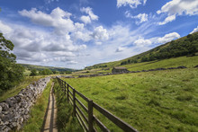 Walk Through Green Countryside...