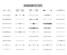 Hand Drawn Deviders Set. Free ...
