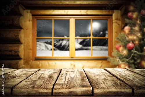 Zdjęcie XXL czas świąteczny i biurko wolnej przestrzeni