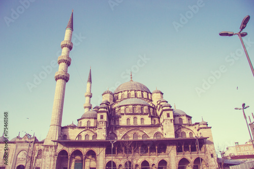 Photo  The Mosque in Istanbul
