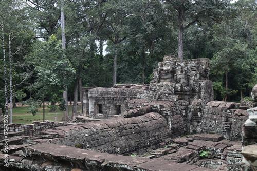 Foto op Aluminium Rudnes Angkor Wat Ruins