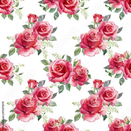 czerwone-kwiaty-z-zielonymi-listkami-na-bialym-tle-wzor