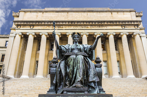 Photo The Library of Columbia University in the City of New York