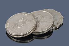 The Hong Kong Dollars Coins On...