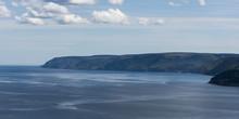 Scenic View Of Coastline, Plea...