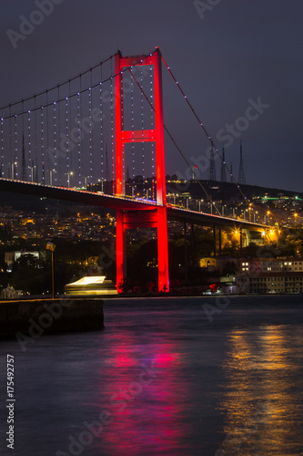 Foto  Night Bosporus