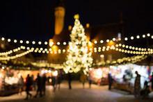Christmas Market At Tallinn Ol...