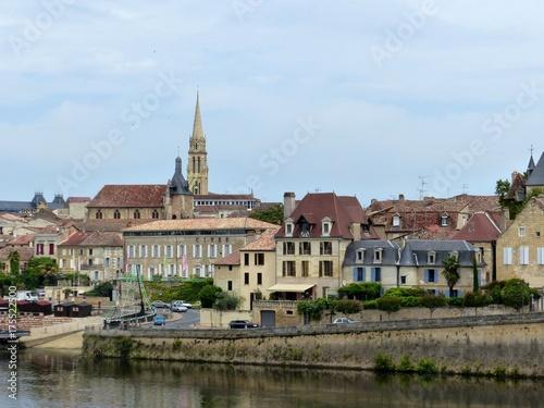Ville de Bergerac Canvas Print