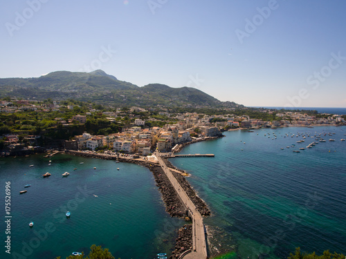 Fotomural View from the Aragonese Castle on Ischia island