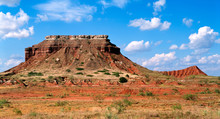Western Landscape - Glass Mountains In North Western Oklahoma