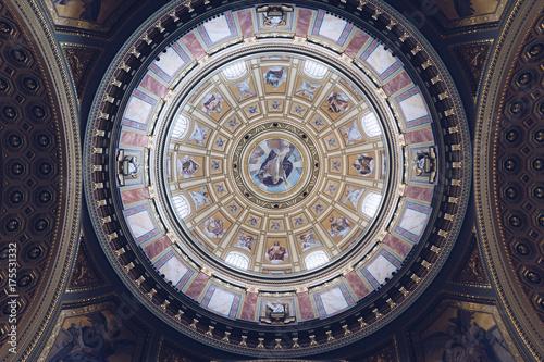 Fototapeta Kopuła Bazyliki Świętego Szczepana w Budapeszcie, Węgry