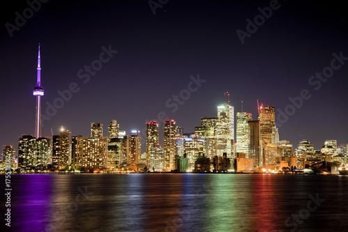 Fototapeta Toronto Night Lights